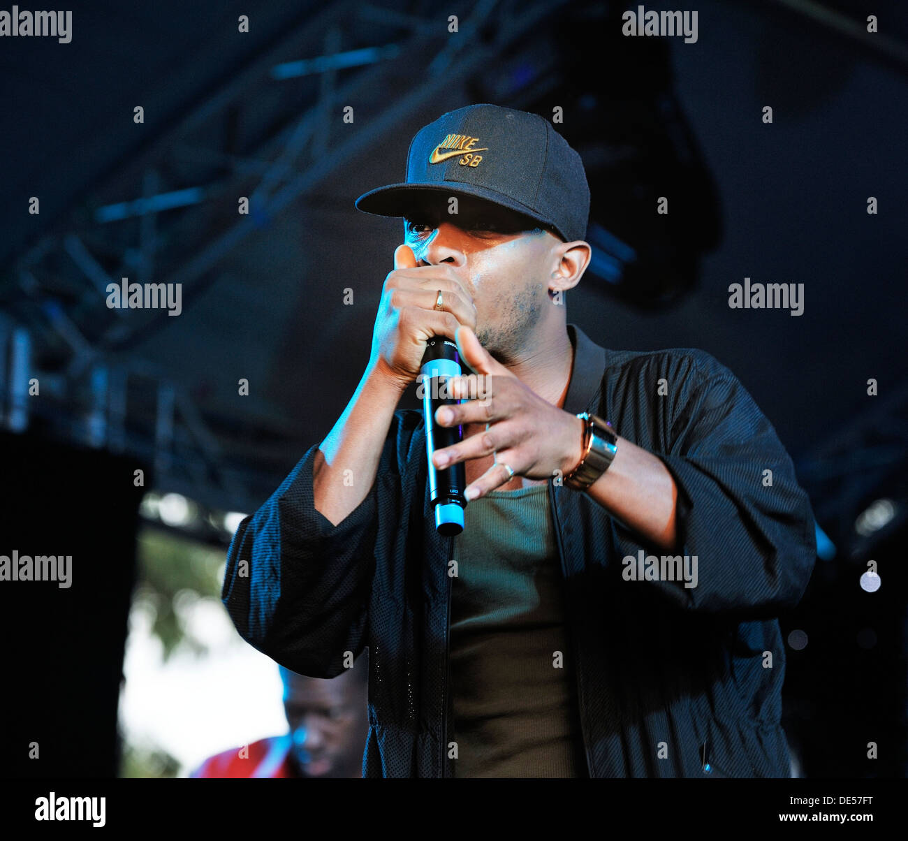 US Hip Hop artist Wordsworth MC performing on stage at the The ...