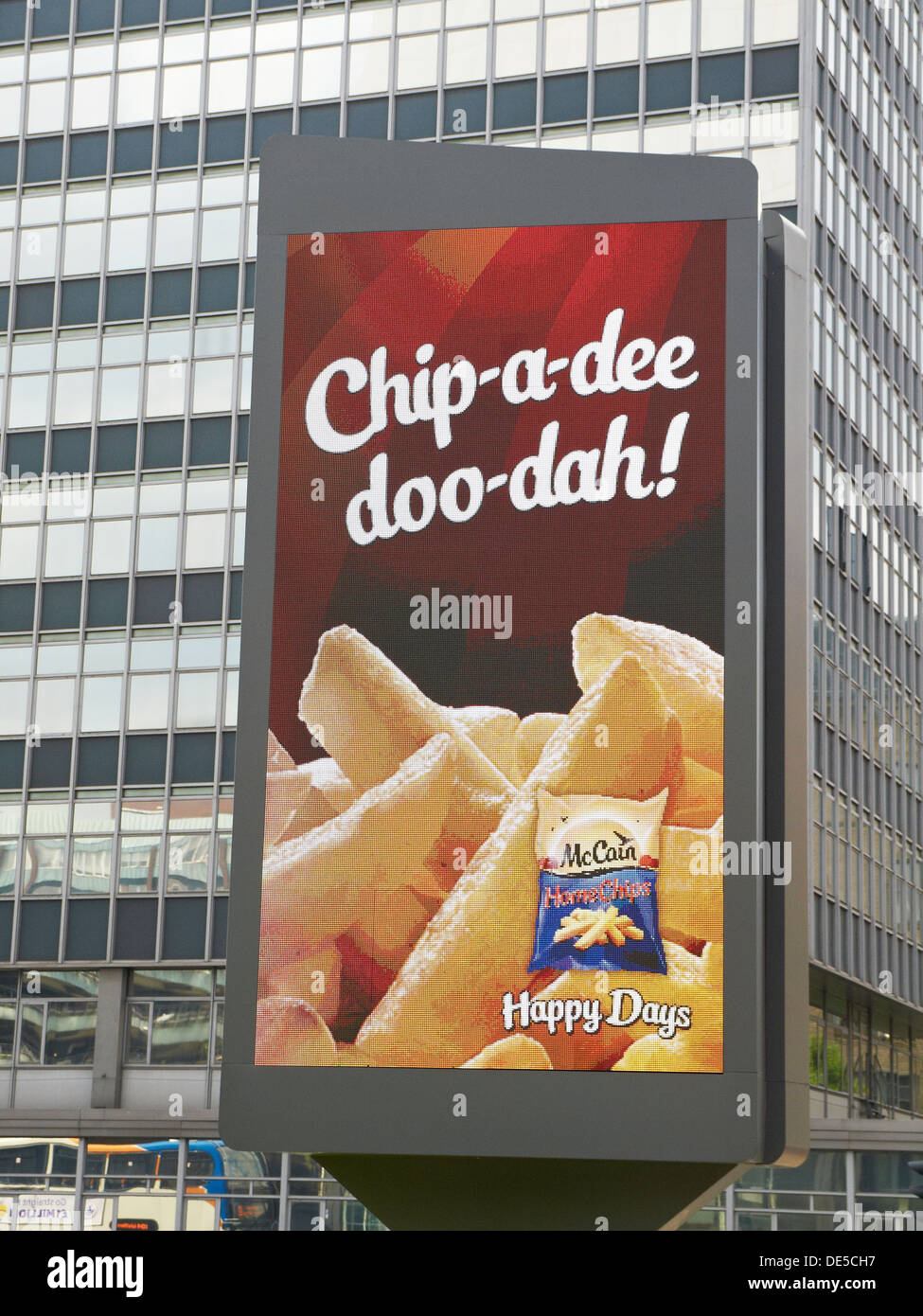 Chips Advert Stock Photos & Chips Advert Stock Images - Alamy