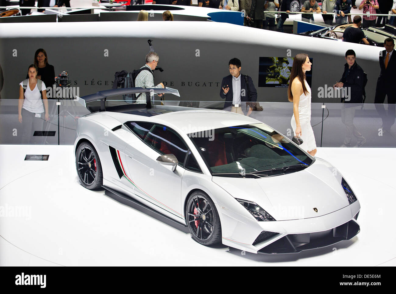 Lamborghini Gallardo LP 570 4 Squadra Corse, 65th IAA International Motor  Show In Frankfurt/Main