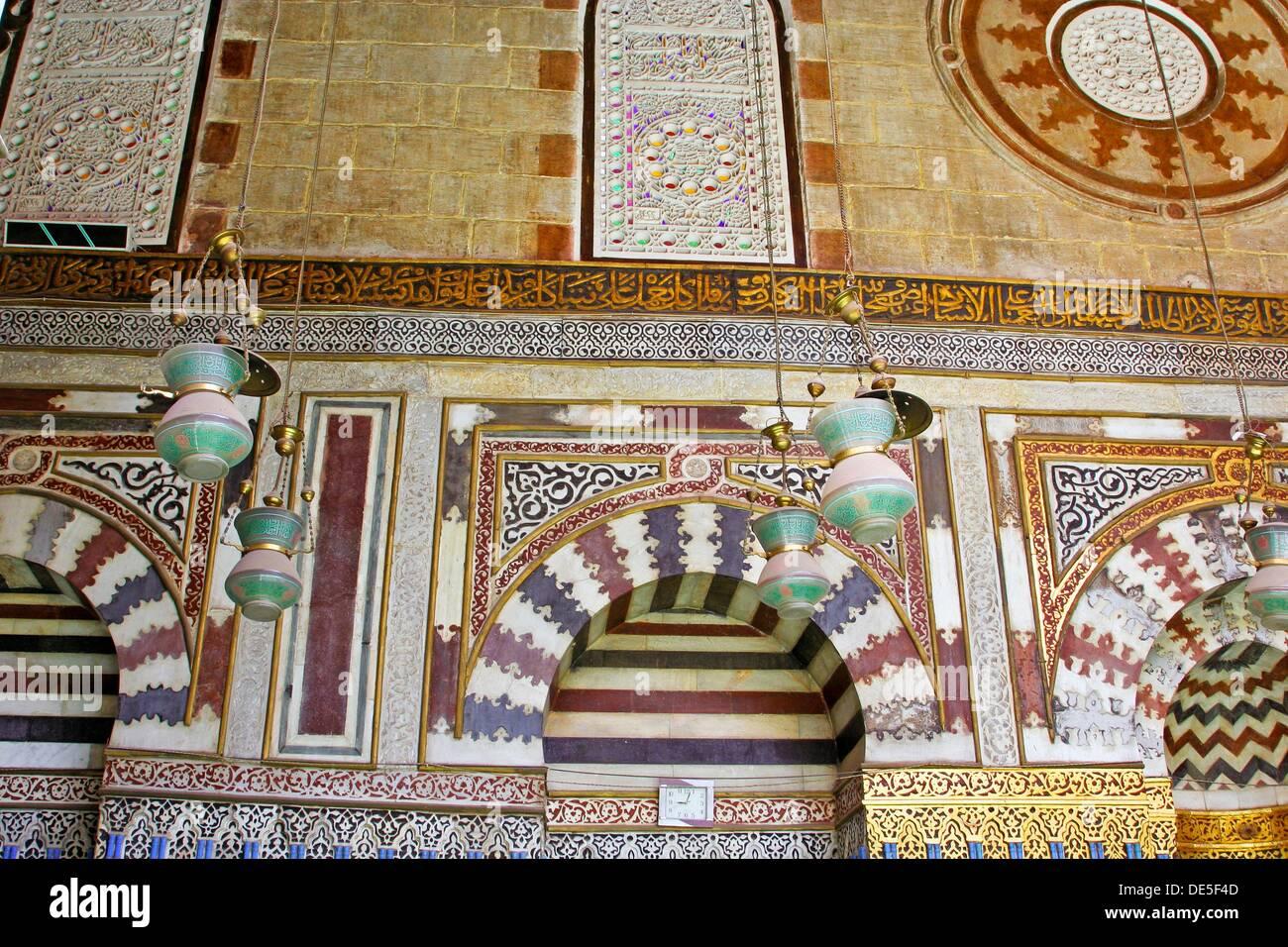 Jamal al-Din Yusuf Al estadar Mosque cairo, Egypt - Stock Image