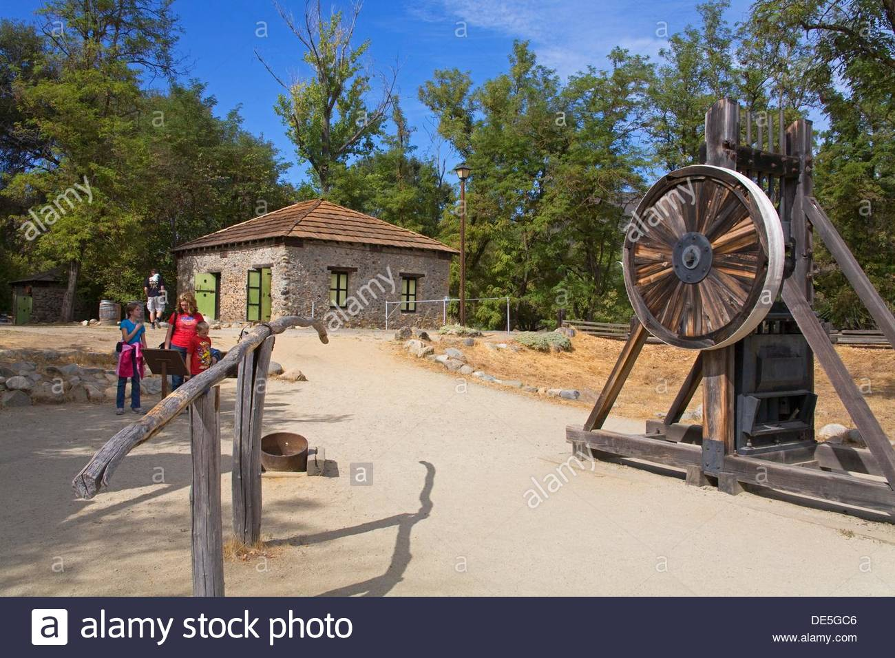 Marshall Gold Discovery State Historic Park in Coloma, California Gold Country, USA - Stock Image
