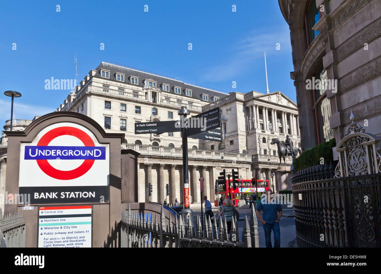 Bank of England - Stock Image