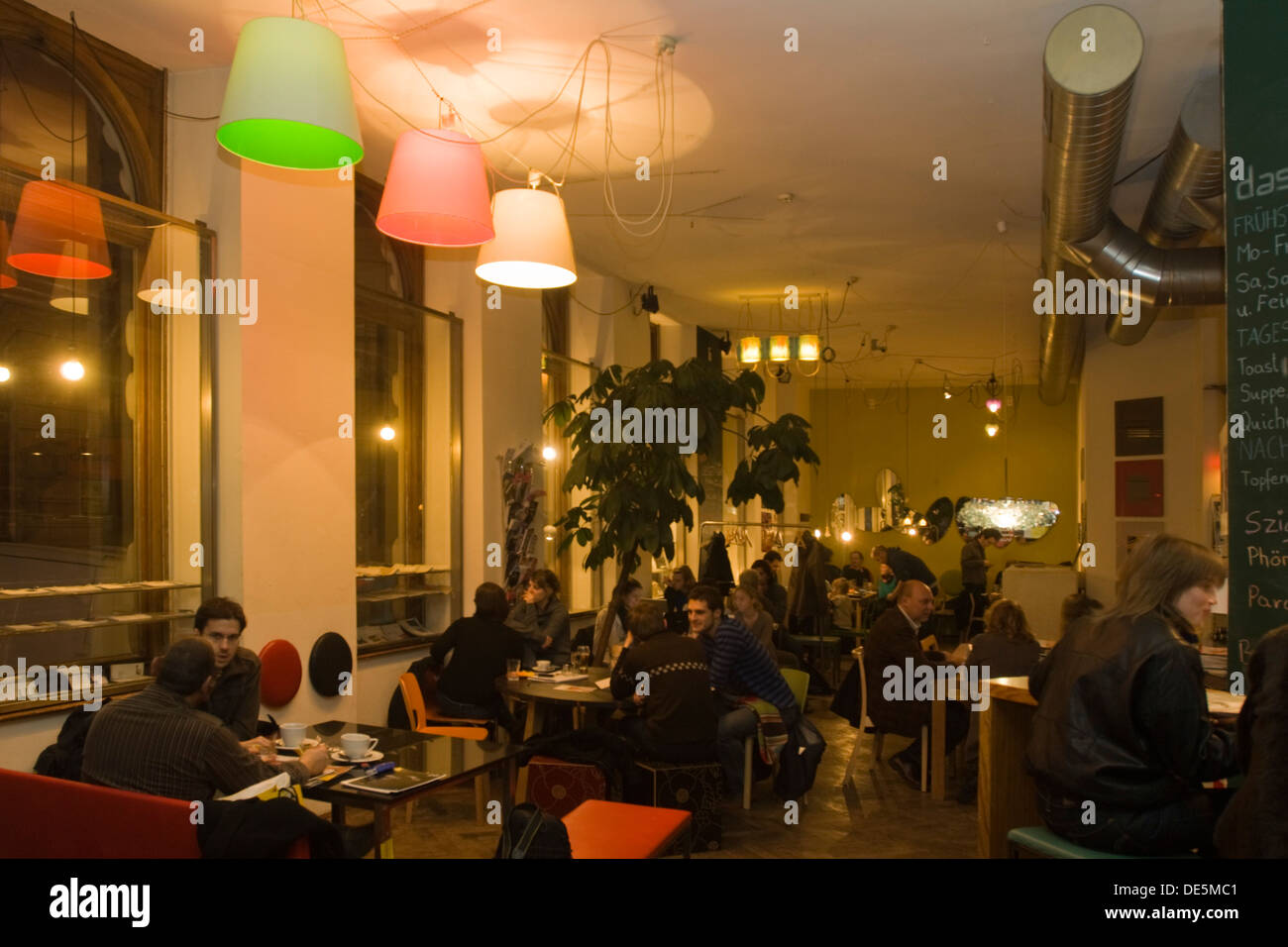 Das Möbel österreich wien 7 cafe das möbel burggasse 10 stock photo