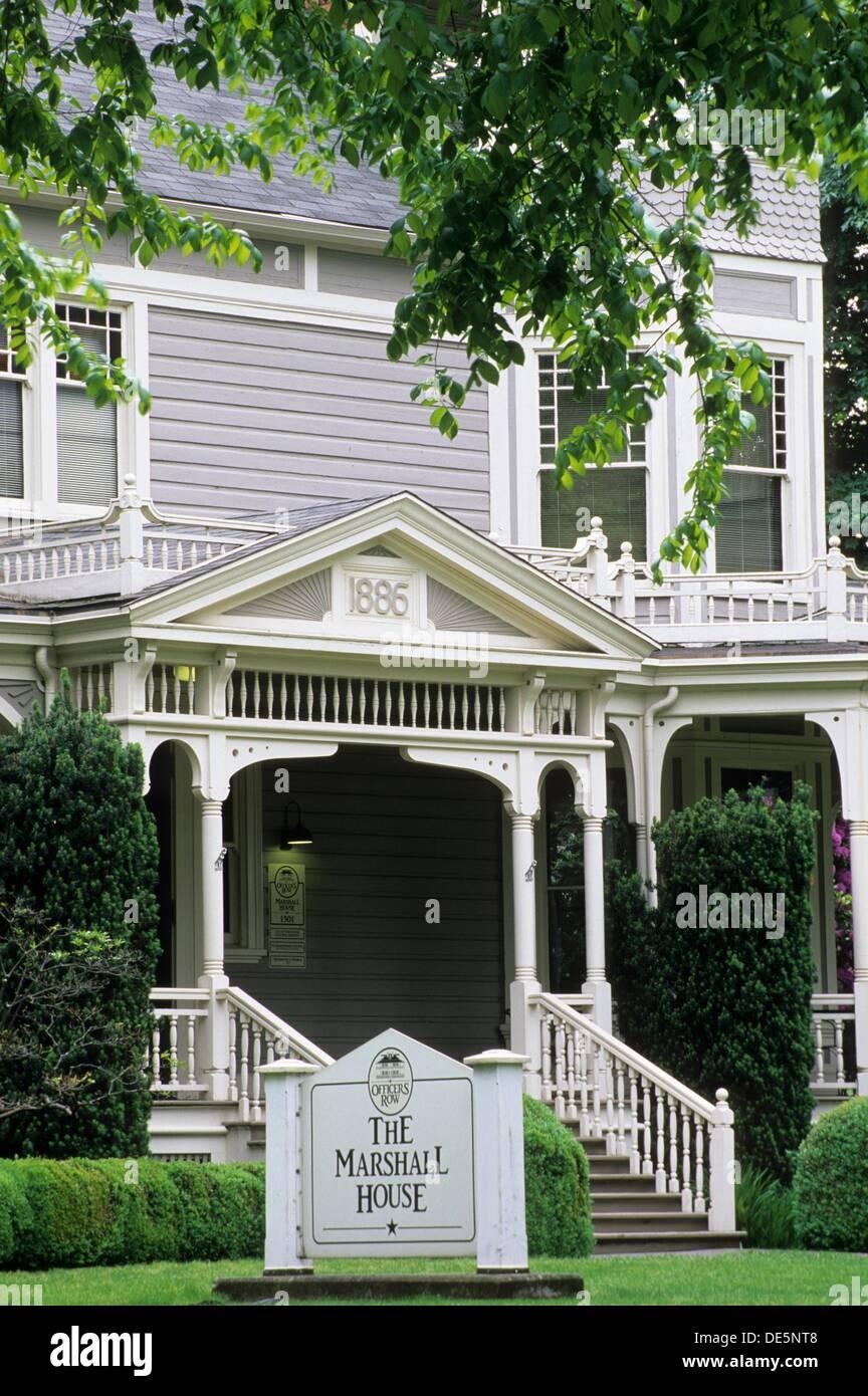 Marshall House, Vancouver National Historic Reserve, Washington - Stock Image