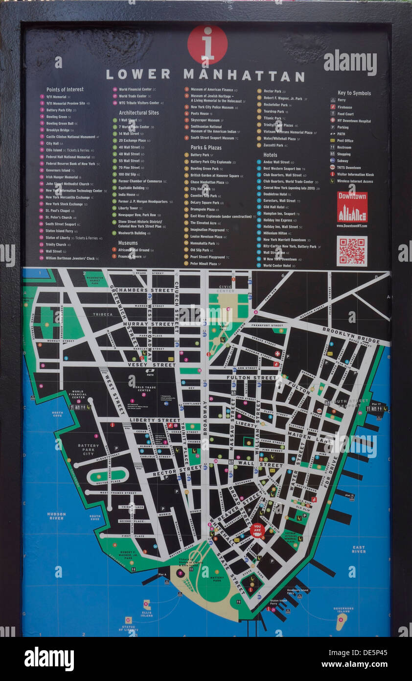 Lower East Side Map Stock Photos & Lower East Side Map Stock ...
