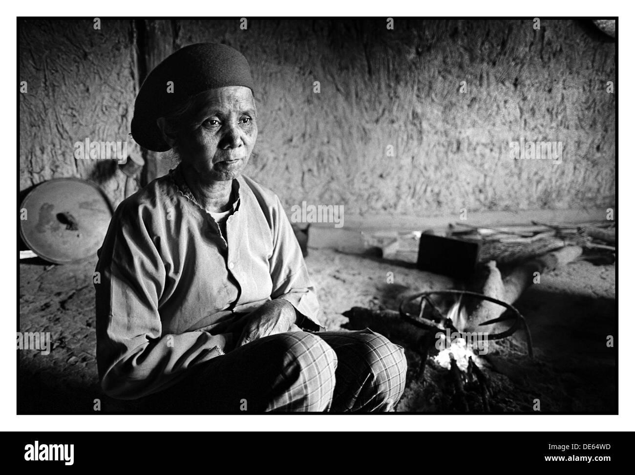 Woman, Sa Pa, Vietnam - Stock Image