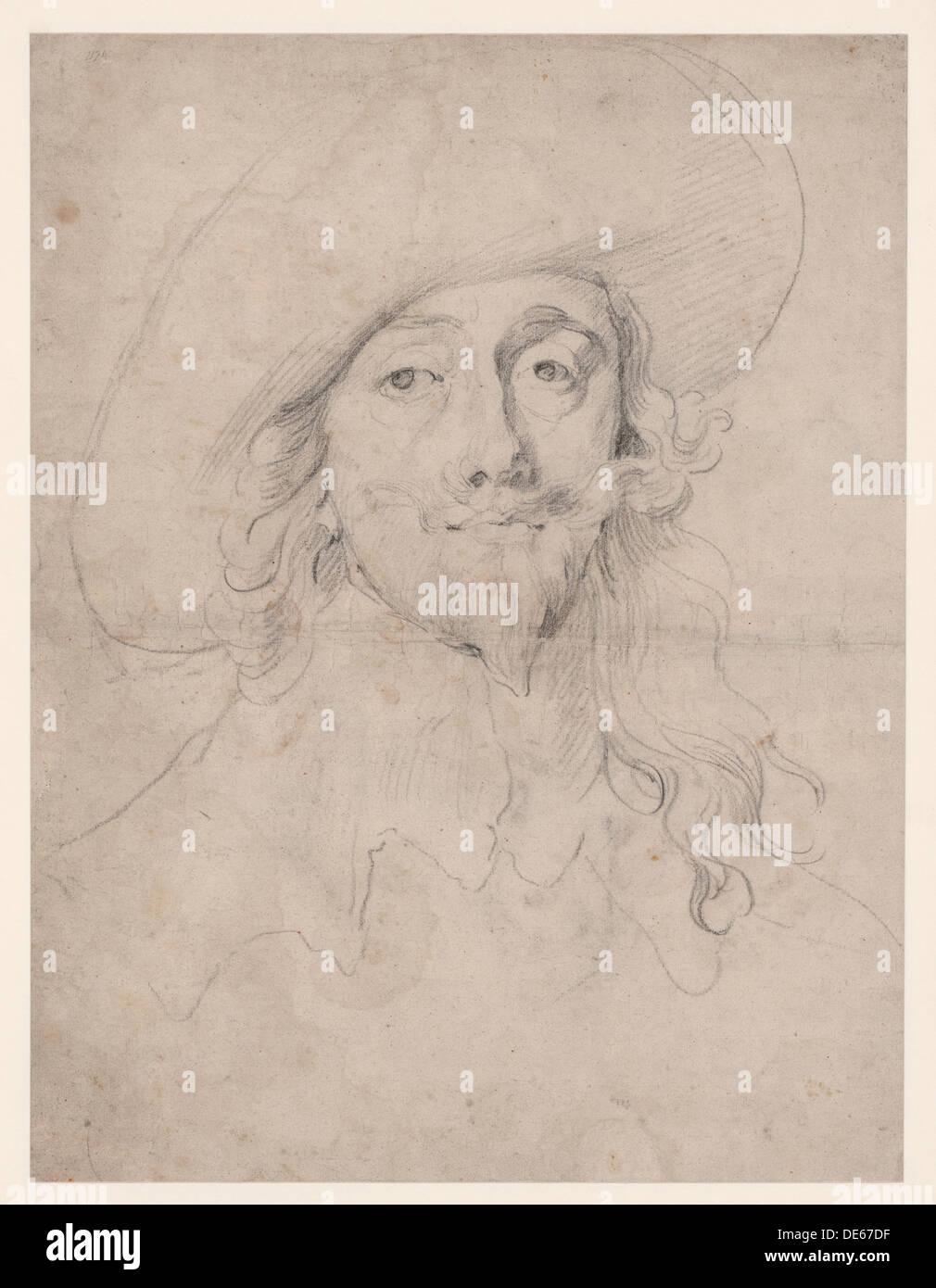 Charles I, King of England  (1600-1649), 1631-1635. Artist: Dyck, Sir Anthonis, van (1599-1641) - Stock Image