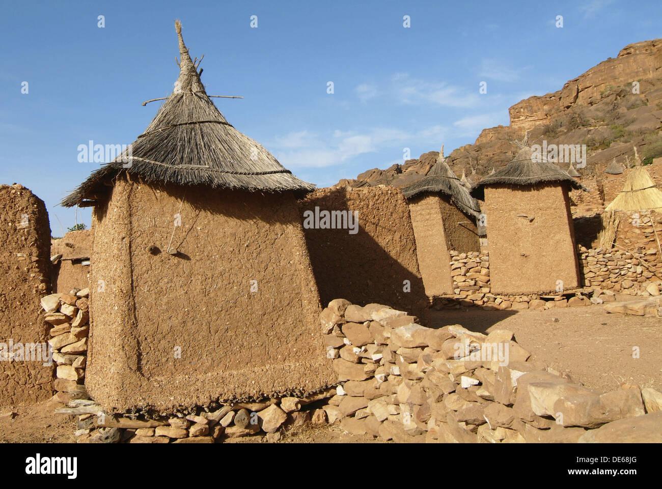 Yougona Dogon Country Mali Stock Photo Alamy