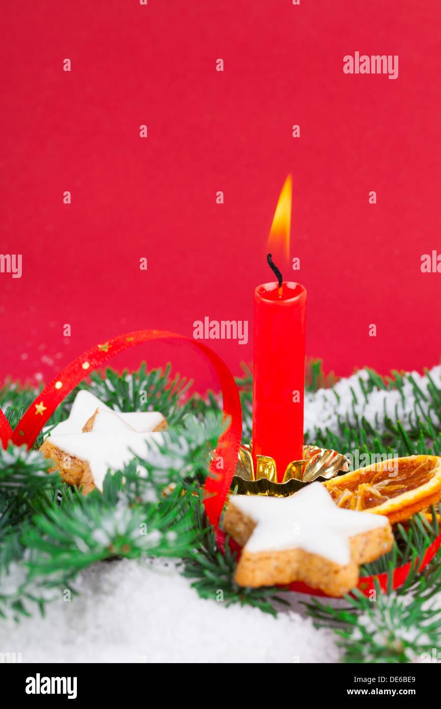 Christmas decorations - Stock Image