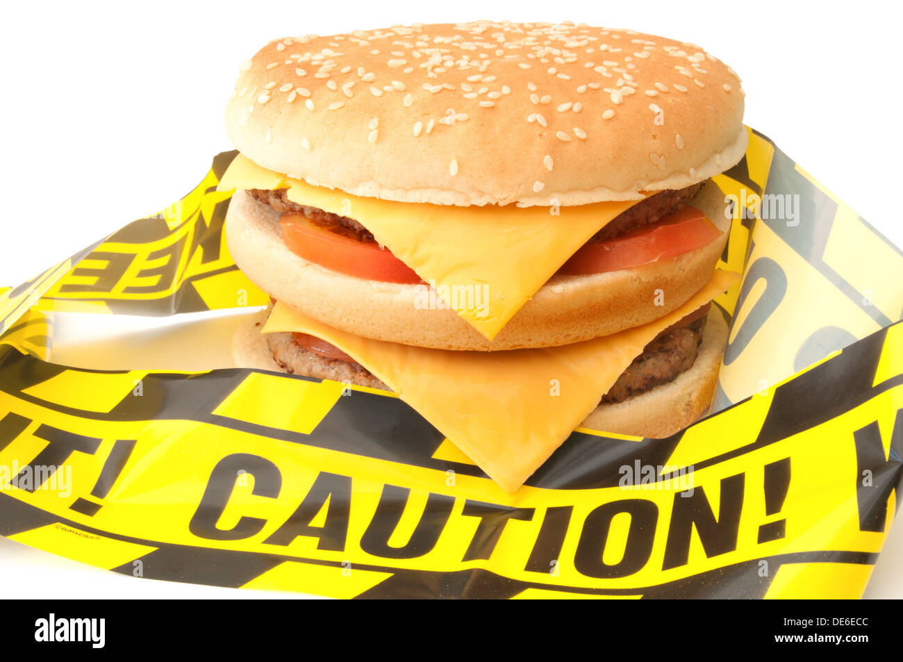 Unhealthy fast food - Stock Image