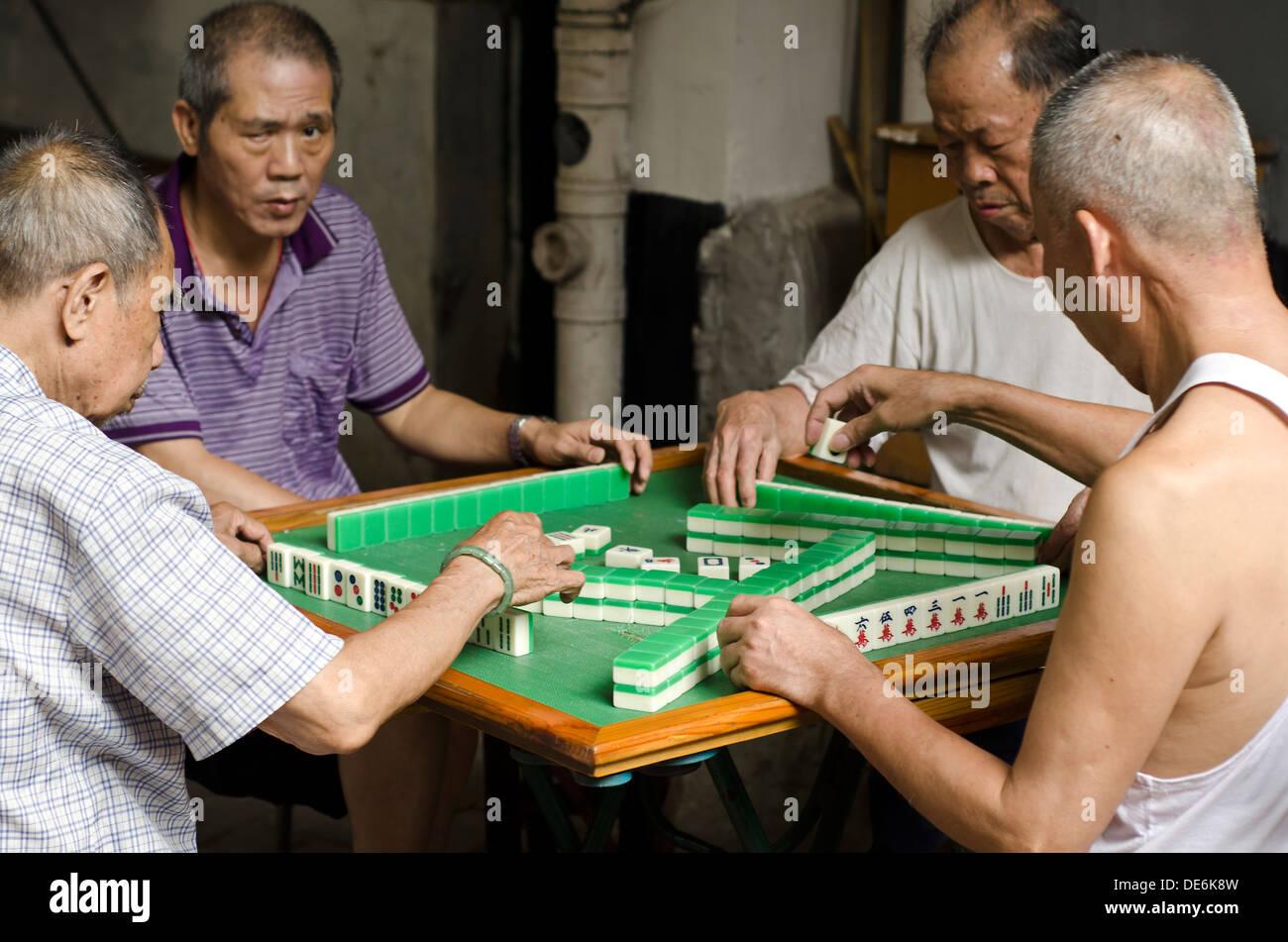 Mahjong Stock Photos & Mahjong Stock Images - Alamy