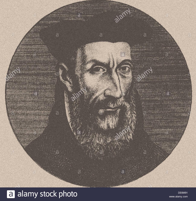 Michel de Nostredame (1503-1566). Artist: Anonymous