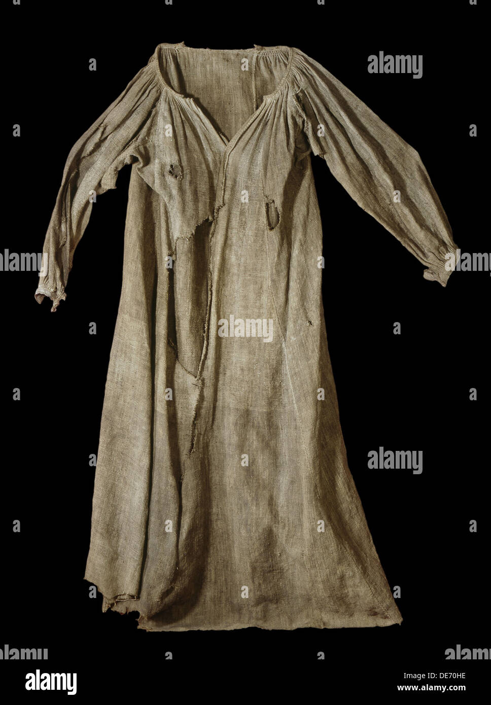 The Witch Gown of Veringenstadt, 1680. Artist: Objects of History - Stock Image