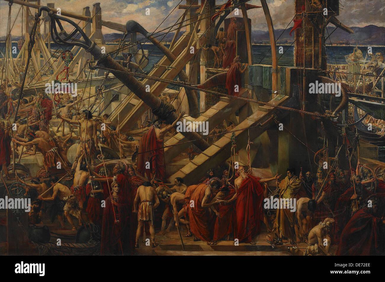 The Siege of Syracuse, 1895. Artist: Spence, Thomas Ralph (1855-1916) - Stock Image