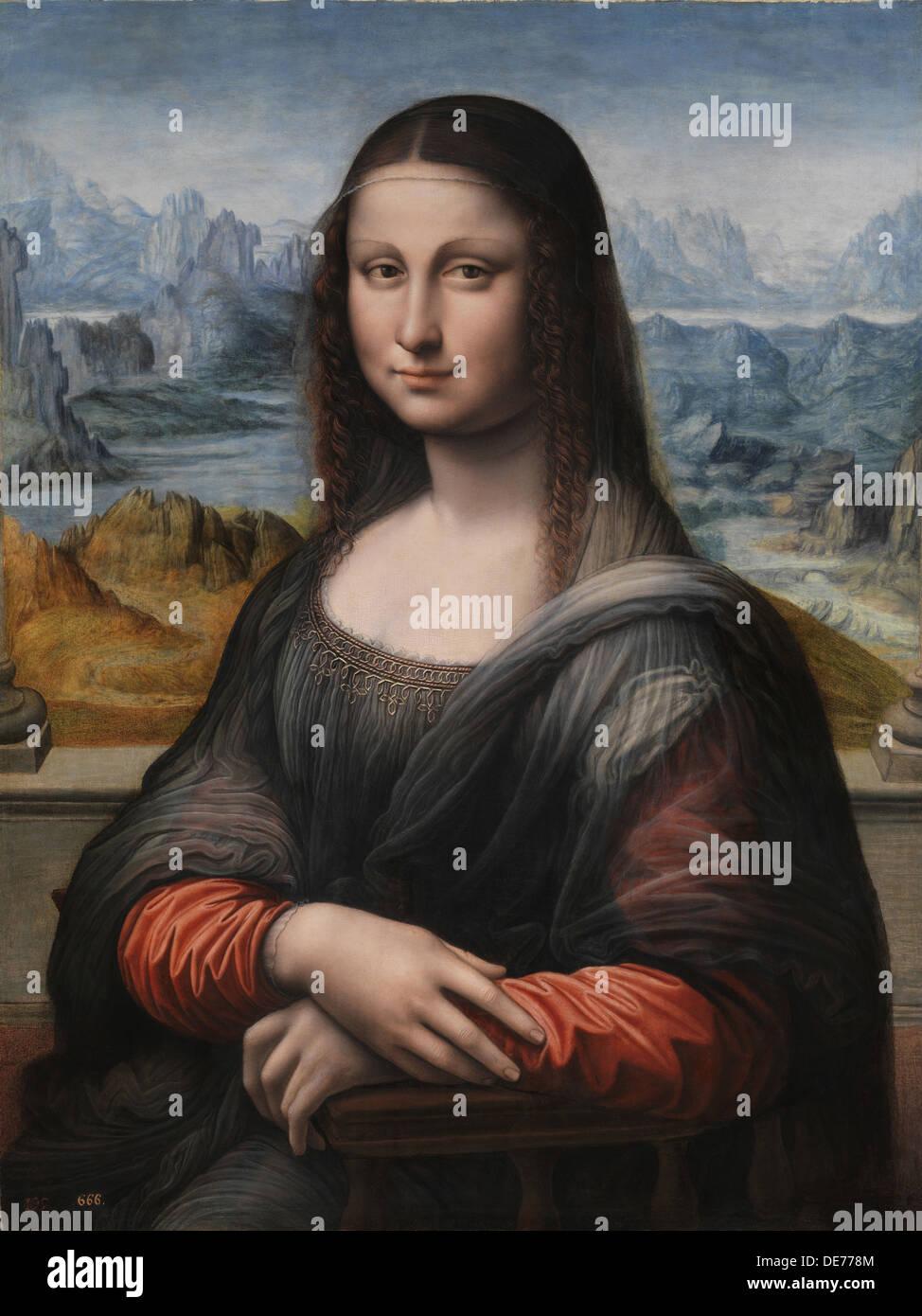 Mona lisa la gioconda 1503 1516 artist leonardo da for La gioconda di leonardo da vinci