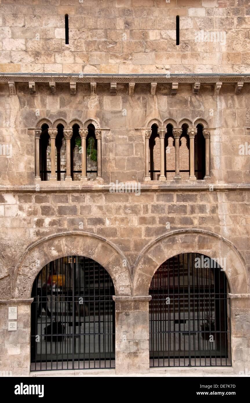 Duques De Granada De Ega Palace S Xii Estella Navarra Spain Stock