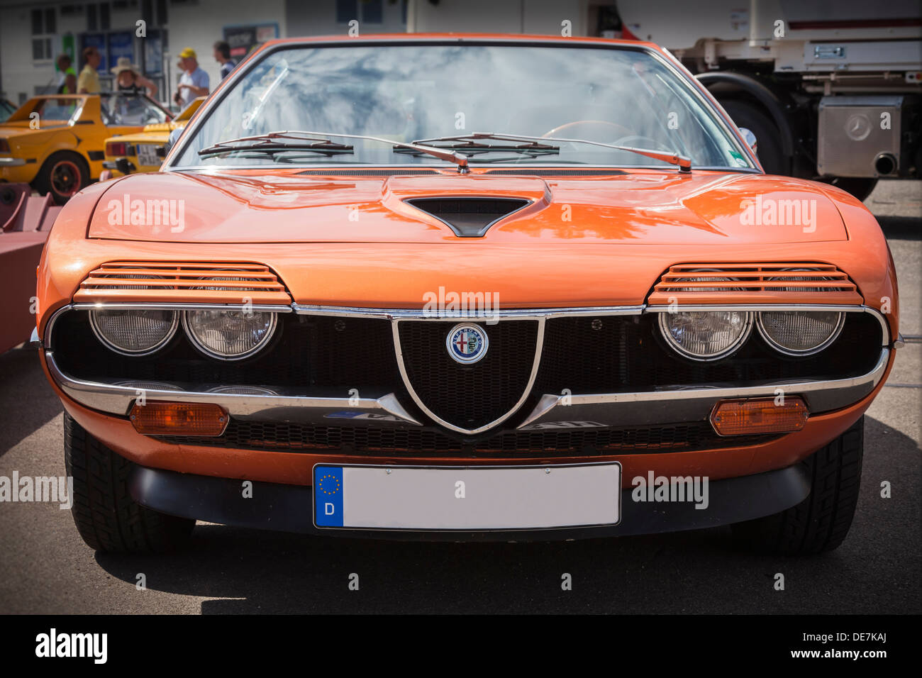 germany bavaria oldtimer alfa romeo bertone stock photo 60405146 alamy. Black Bedroom Furniture Sets. Home Design Ideas