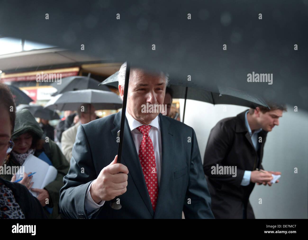 Berlin, Germany, Klaus Wowereit, SPD, Berlin's governing mayor - Stock Image