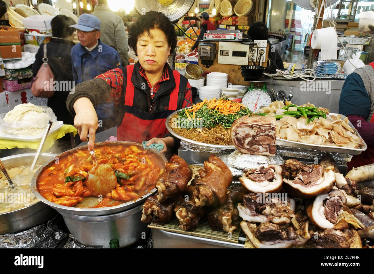 Cooking in Korean recommend