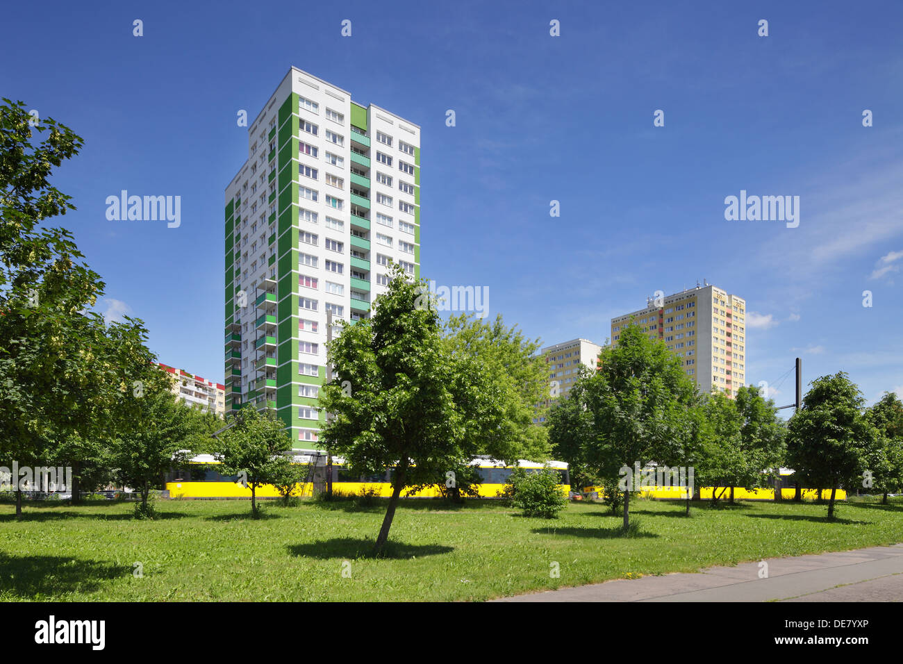 Landsberger Allee Stock Photos Landsberger Allee Stock Images Alamy