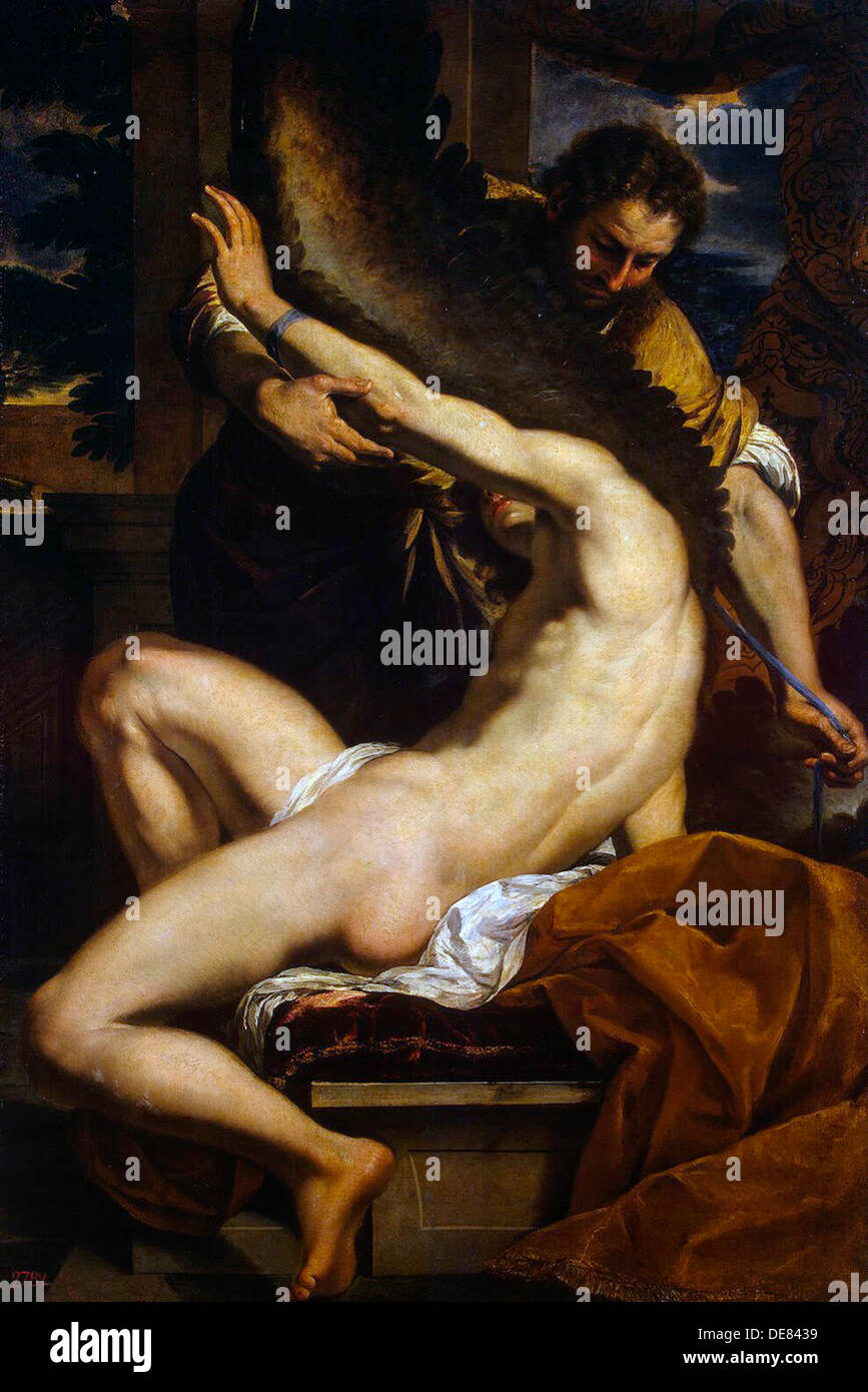 Daedalus and Icarus', 1645. - Stock Image