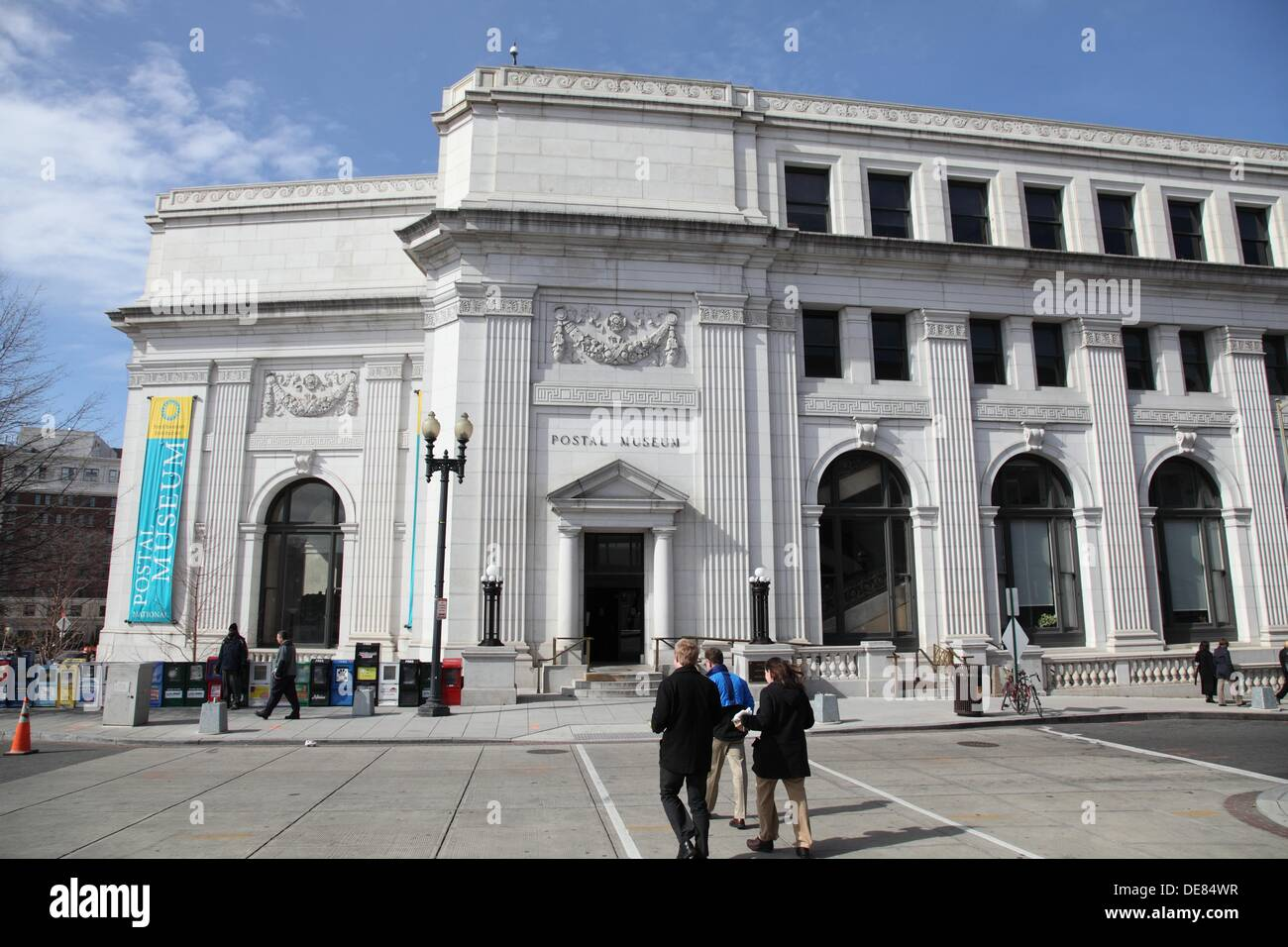 Postal Museum in Washington DC, USA - Stock Image