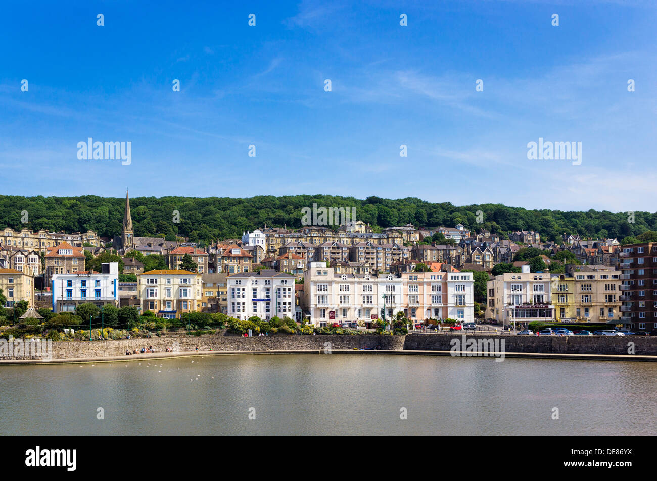 Weston Super Mare old town, Somerset, UK - Stock Image