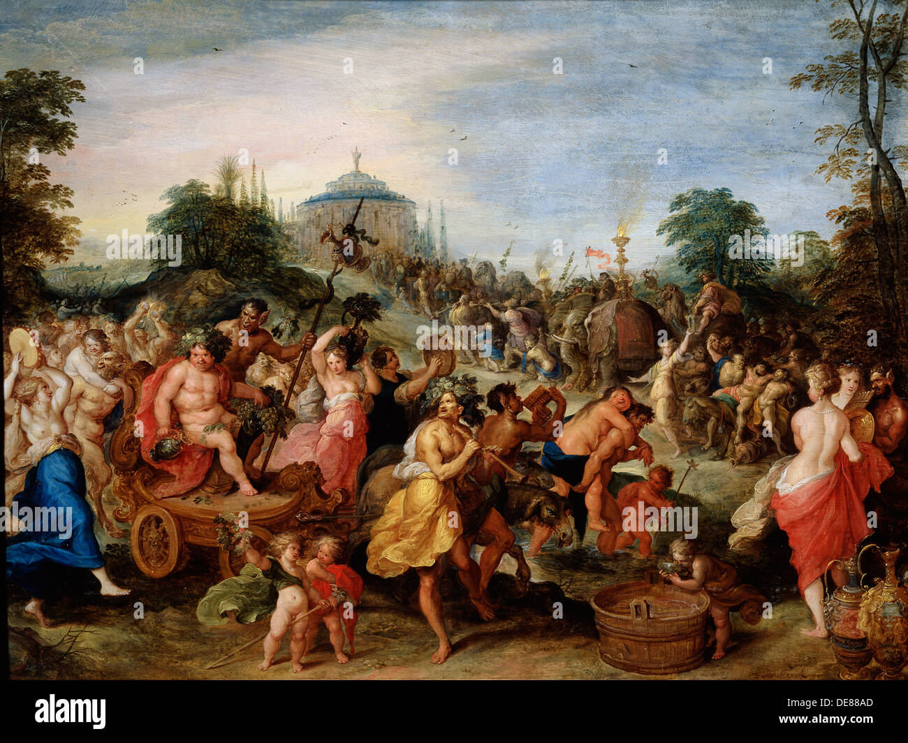 'Bacchus Procession', 17th century. Artist: Frans Francken II Stock Photo