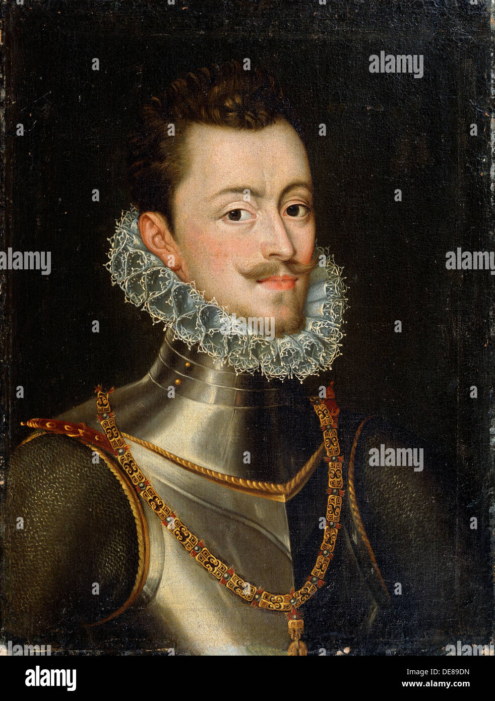 'Portrait of the Governor of the Habsburg Netherlands Don John of Austria', 16th century.  Artist: Alonso Sanchez Coello - Stock Image