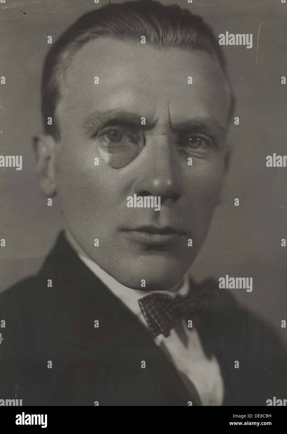 Portrait of the author Mikhail Bulgakov (1891-1940). Artist: Anonymous - Stock Image