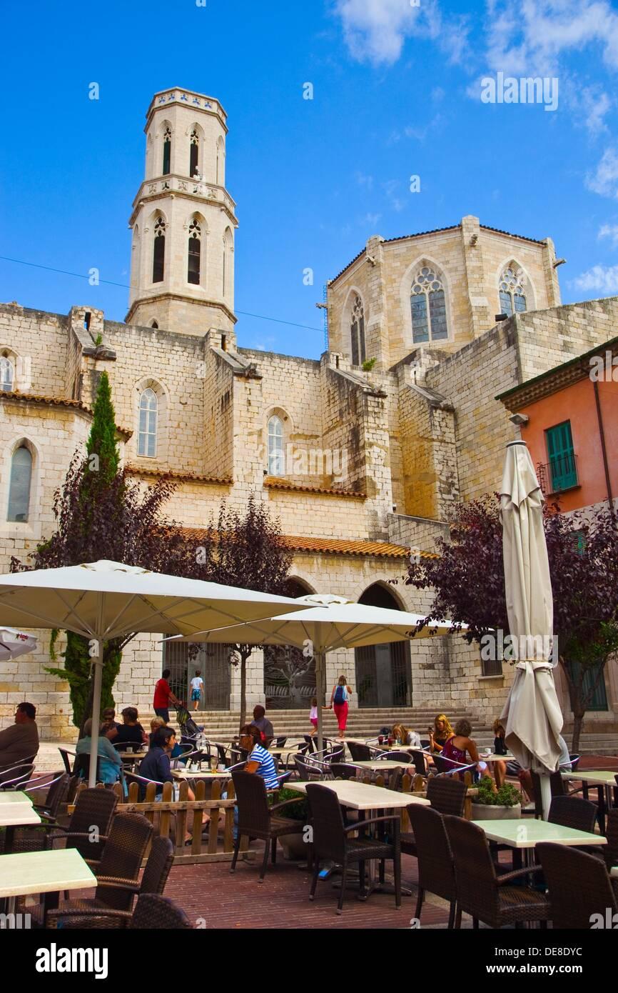 Sant Pere Church, Figueres, Alt Empordá, Costa Brava, Girona Province, Catalonia, Spain. - Stock Image