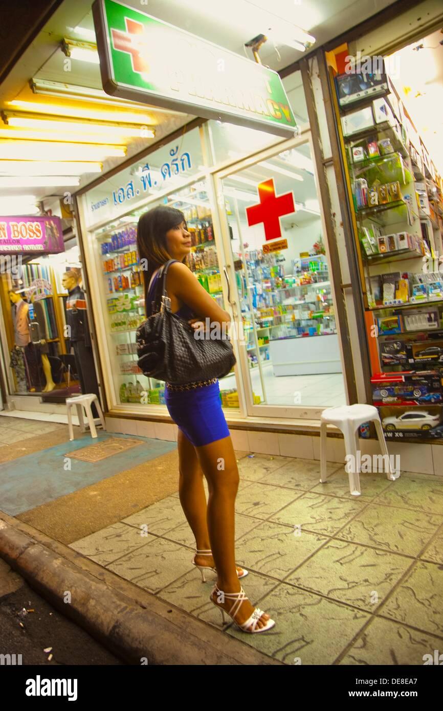 Lady Pharmacy  Blanga Street  Patong  Phuket  Thailand. - Stock Image