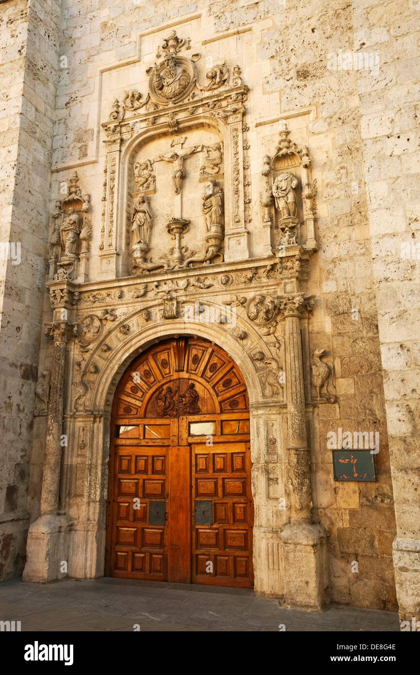 Church of Saints Cosmas and Damian, Burgos. Castilla-Leon, Spain Stock Photo