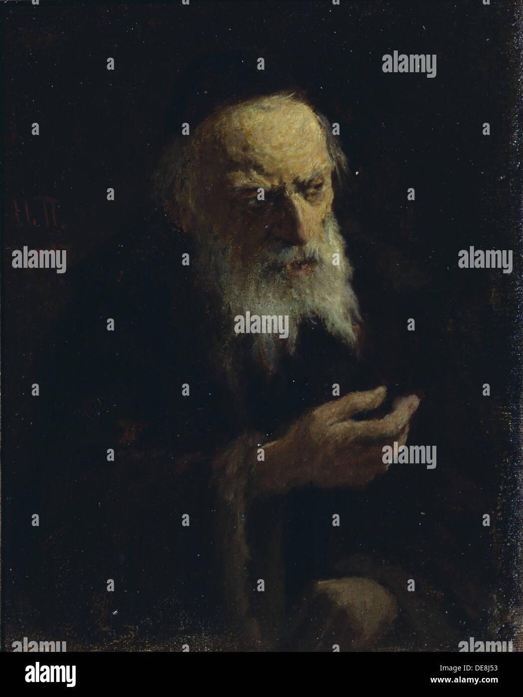 Ivan the Terrible, 1897. Artist: Pelevin, Ivan Andreyevich (1840-1917) - Stock Image