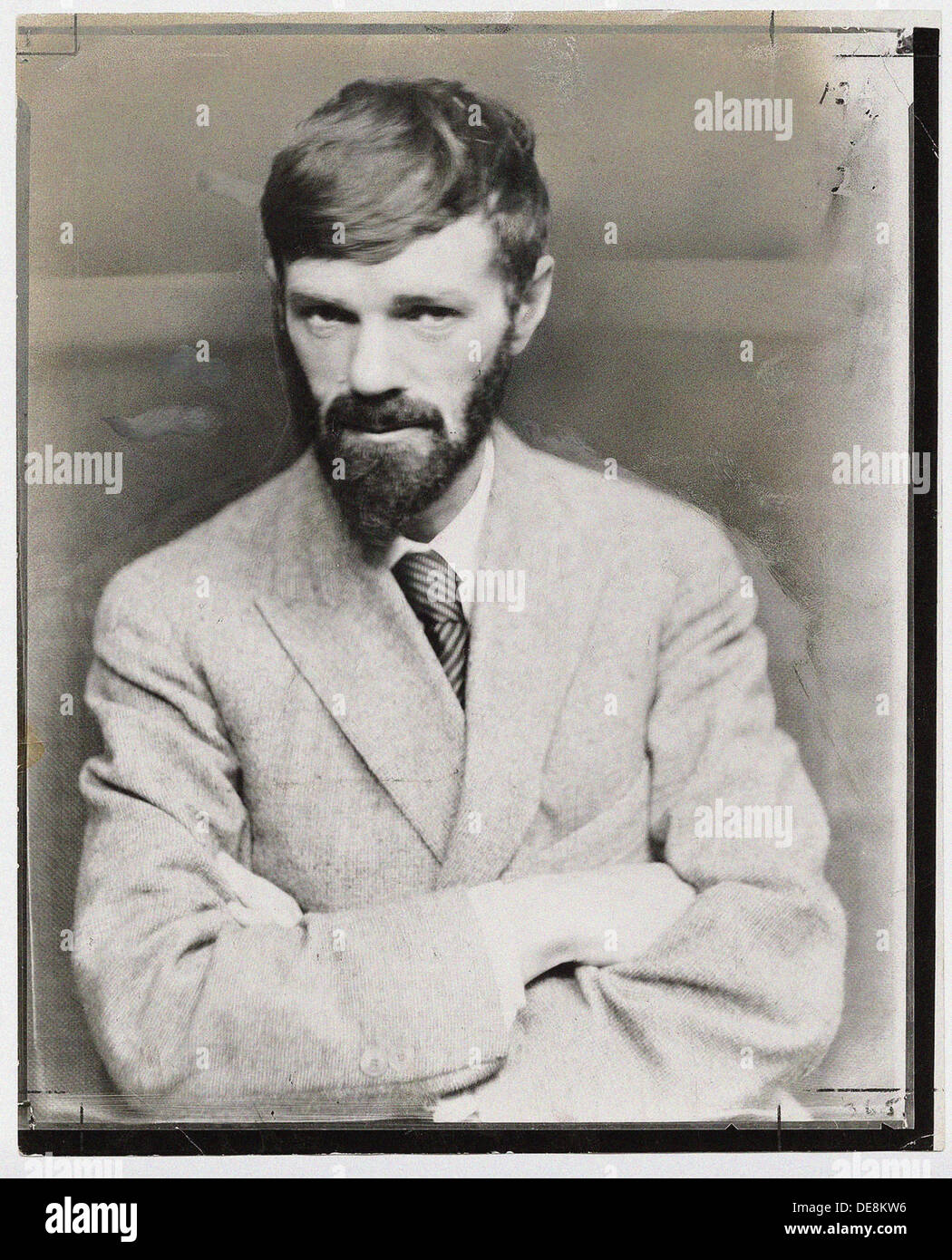 David Herbert Lawrence (1885-1930), End 1920s. Stock Photo
