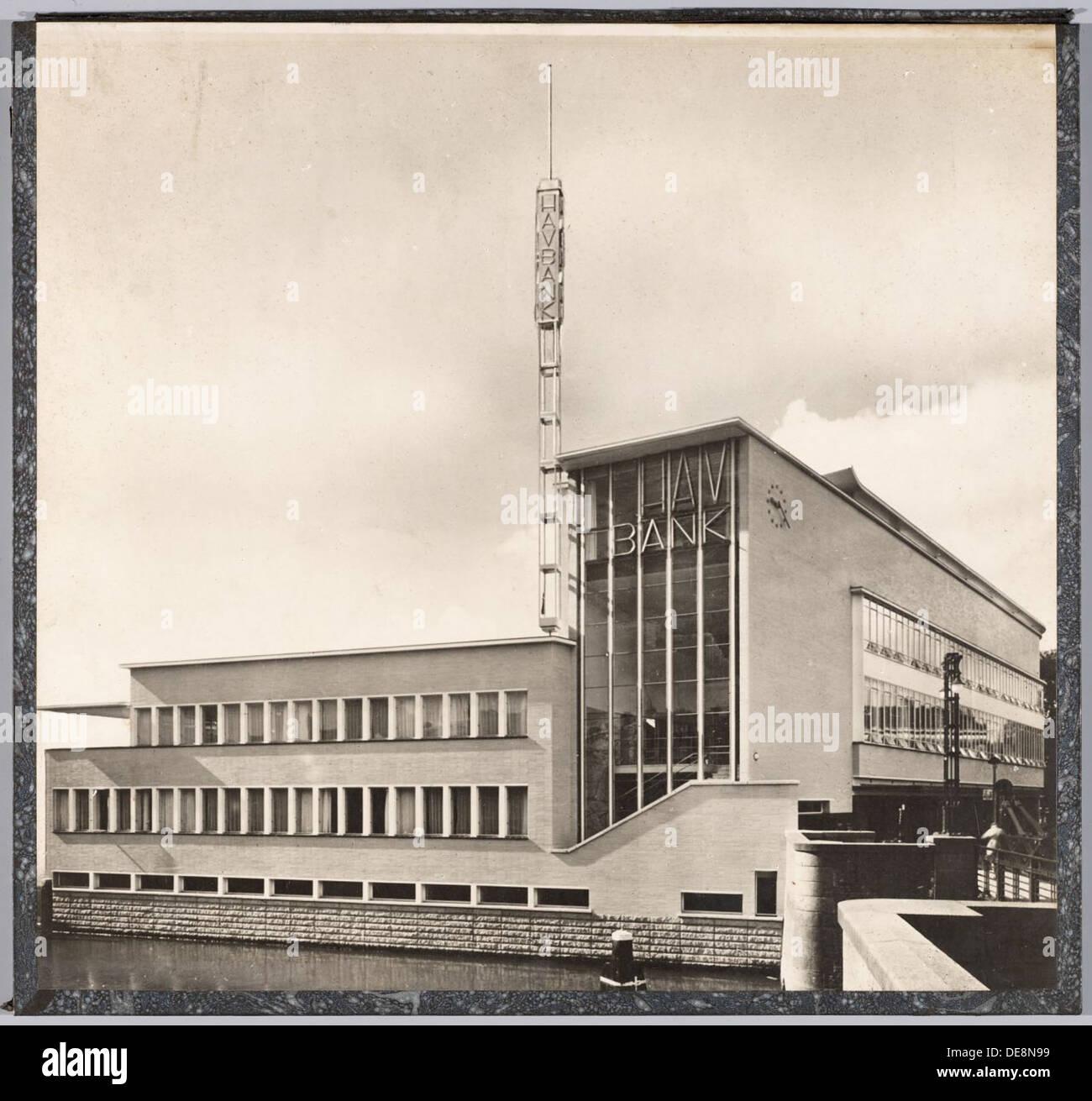 Bankgebouw HAV | HAV Bank Stock Photo