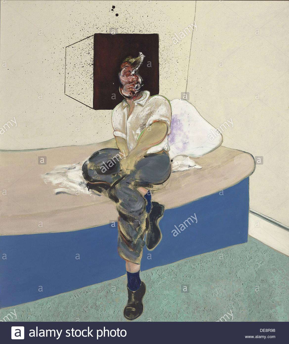 Self-Portrait (Study), 1964. Artist: Bacon, Francis (1909-1992) - Stock Image