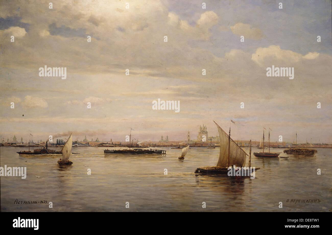 Astrakhan, 1879. Artist: Vereshchagin, Pyotr Petrovich (1836-1886) - Stock Image