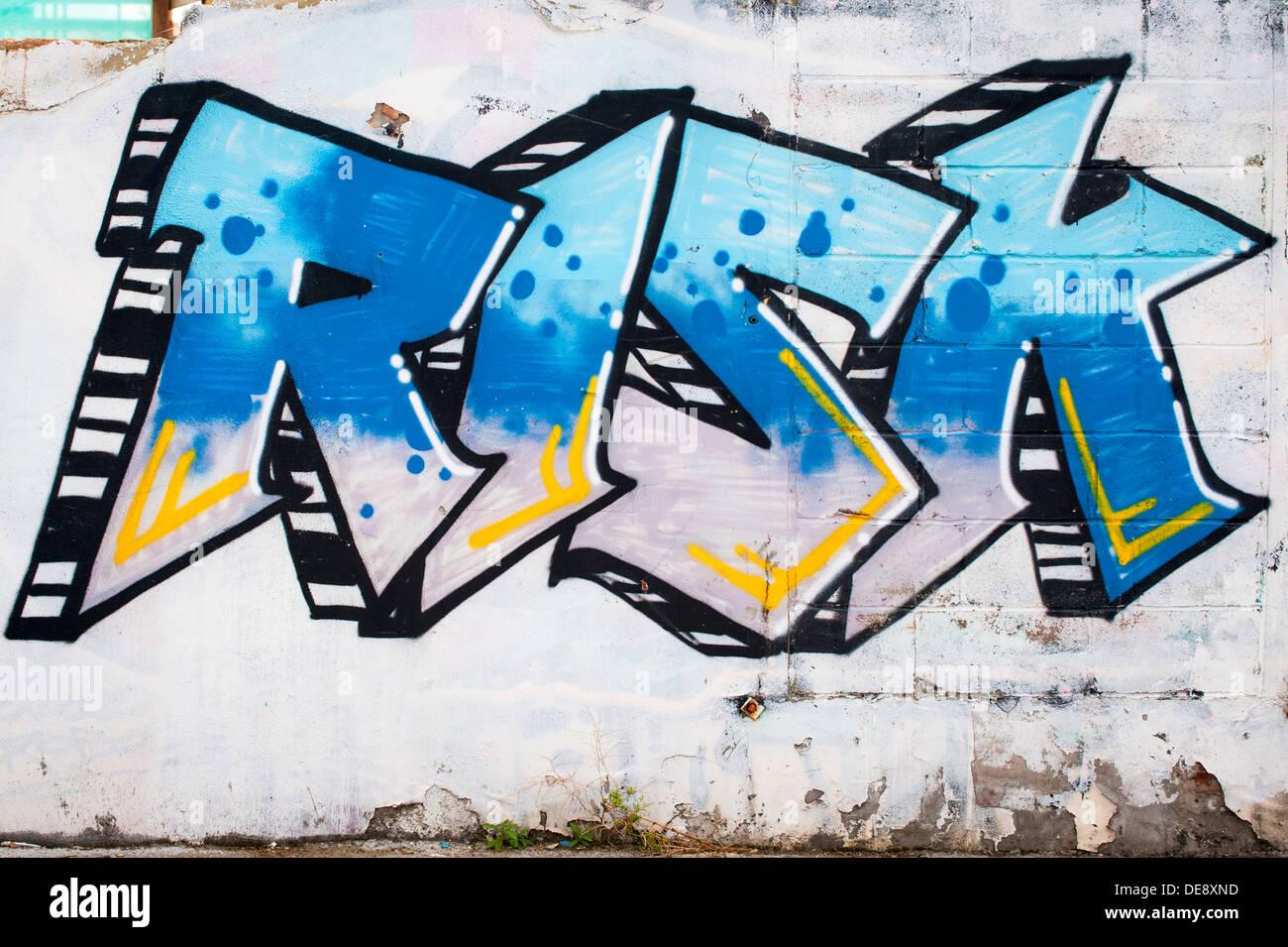 Graffiti Word Art Stock Photos \u0026 Graffiti Word Art Stock