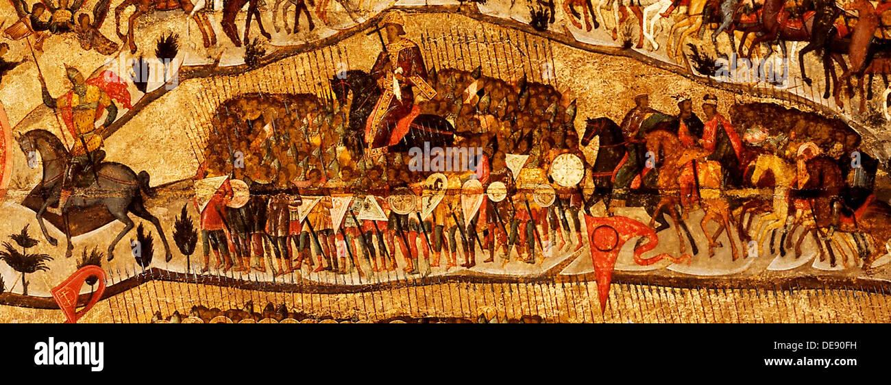 Blessed Be the Host of the King of Heaven  (Detail: Warriors Range: Ivan IV, Vladimir Monomakh, Vladimir I, Boris and Gleb), 155 - Stock Image