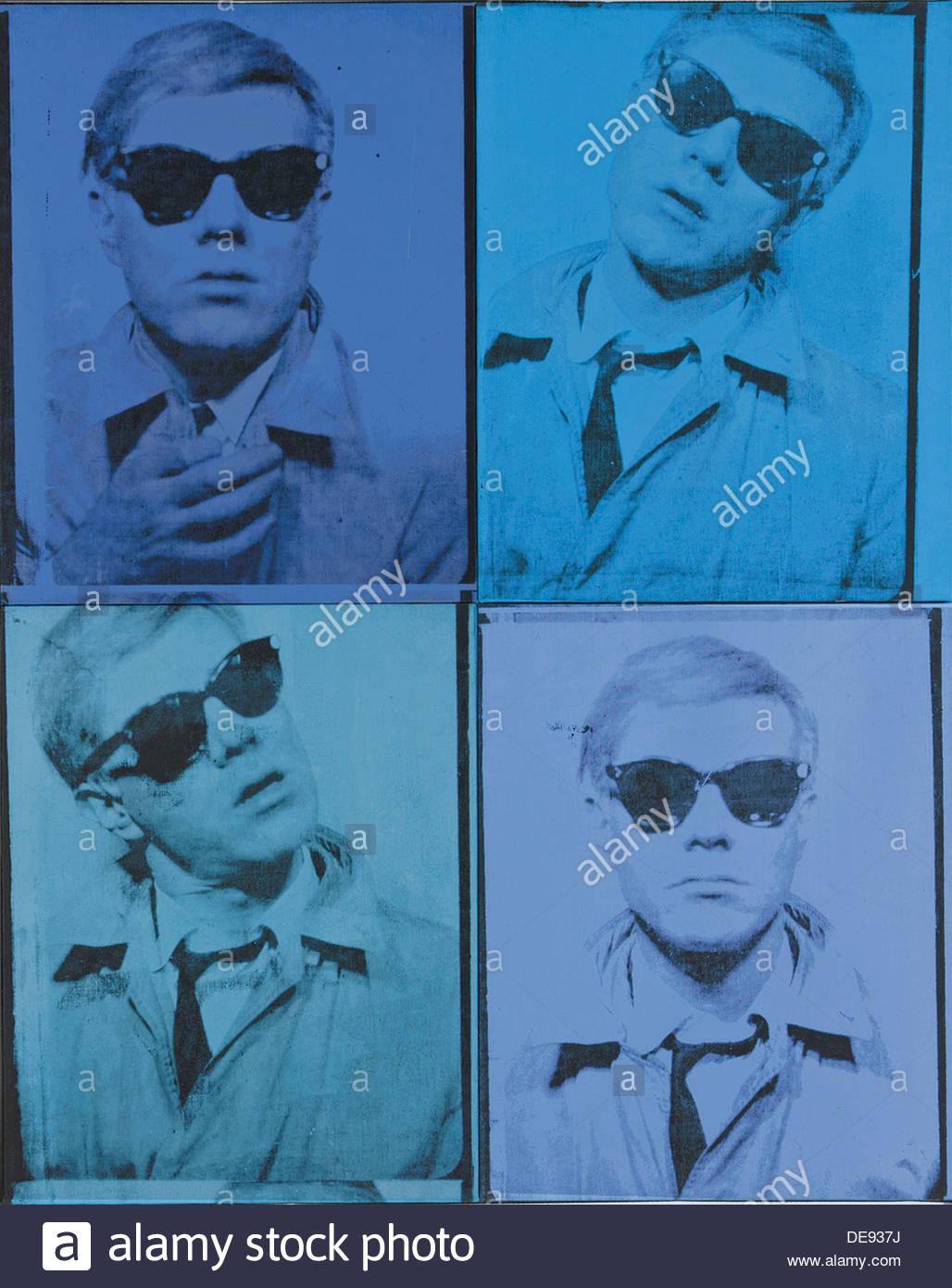 Self-Portrait, 1963-1964. Artist: Warhol, Andy (1928-1987) - Stock Image