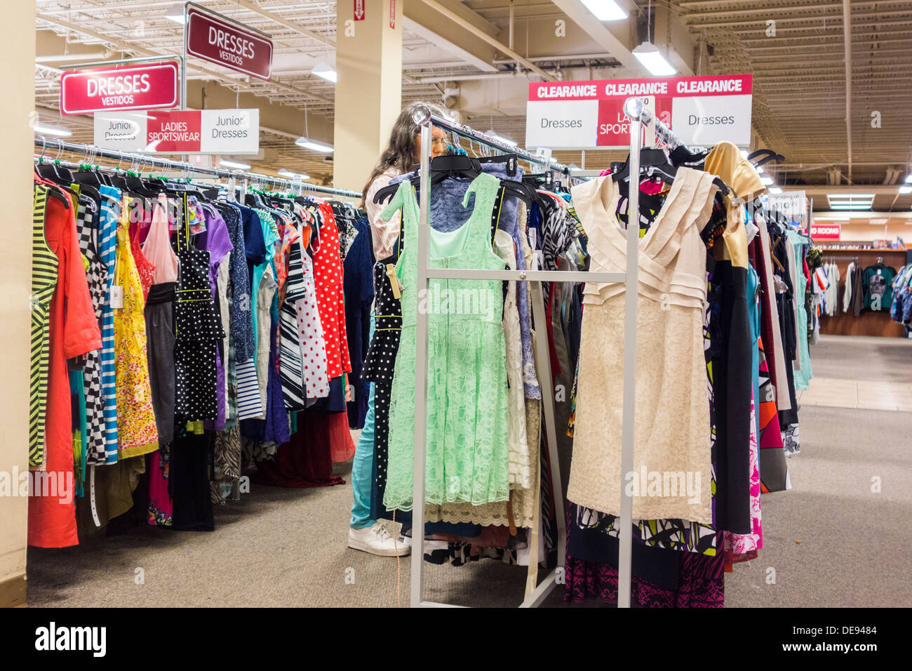 Department store clothes racks for sale