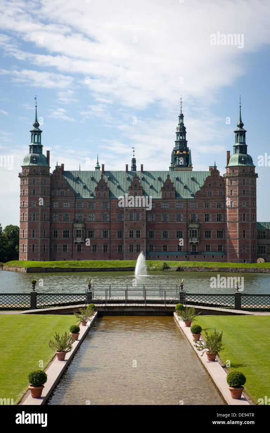 Frederiksborg Palace - Stock Image