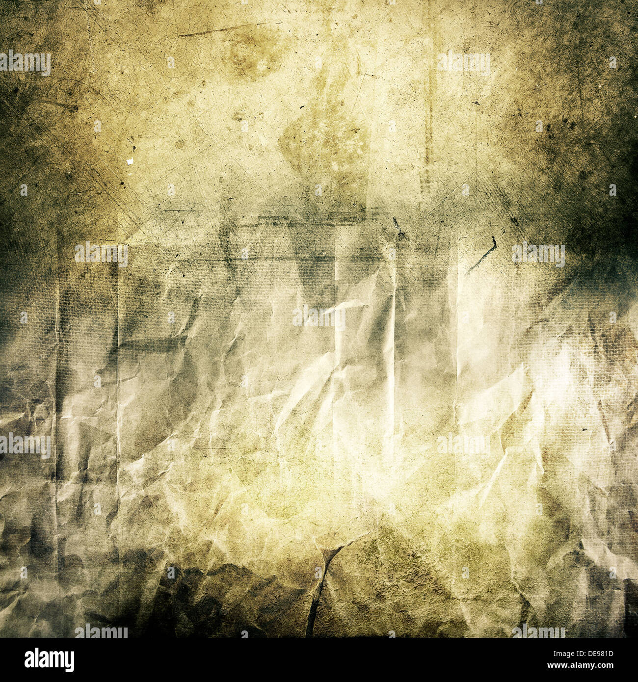 Grungy textured background design element - Stock Image