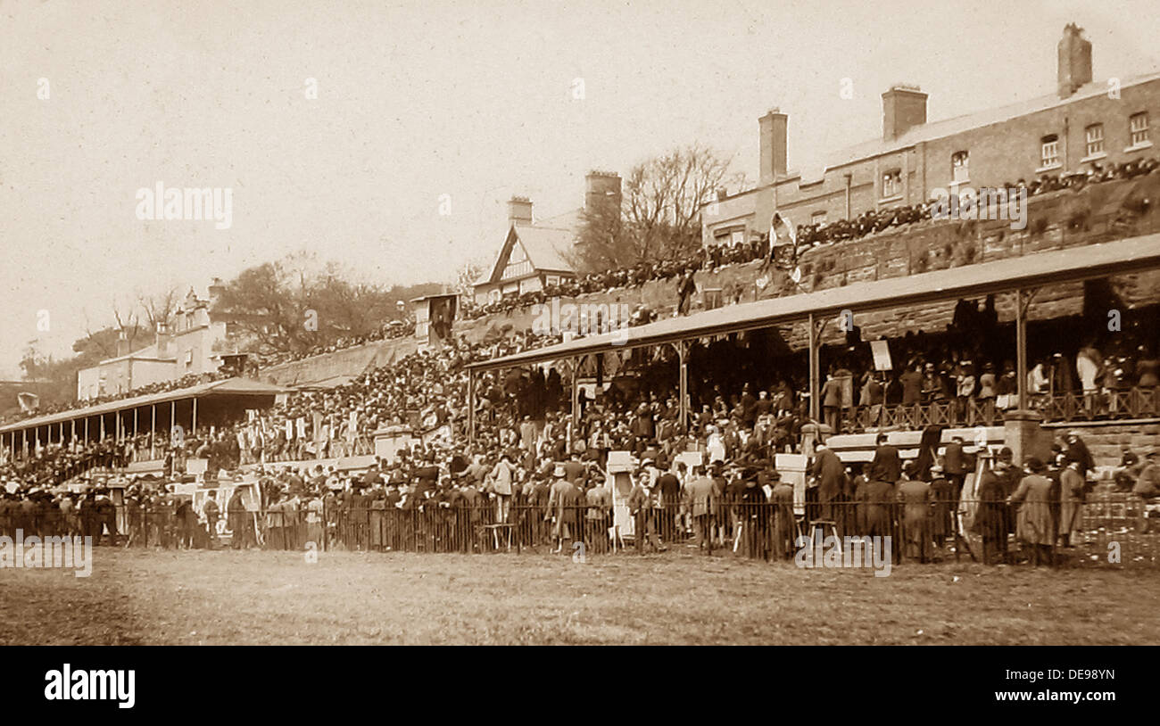 Chester Racecourse early 1900s - Stock Image