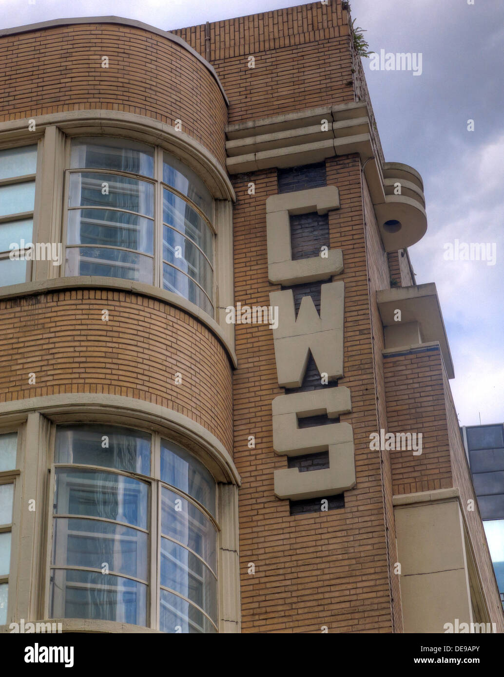 CWS,Co-operative retail Society building, Balloon Street,Manchester,England,UK - Stock Image