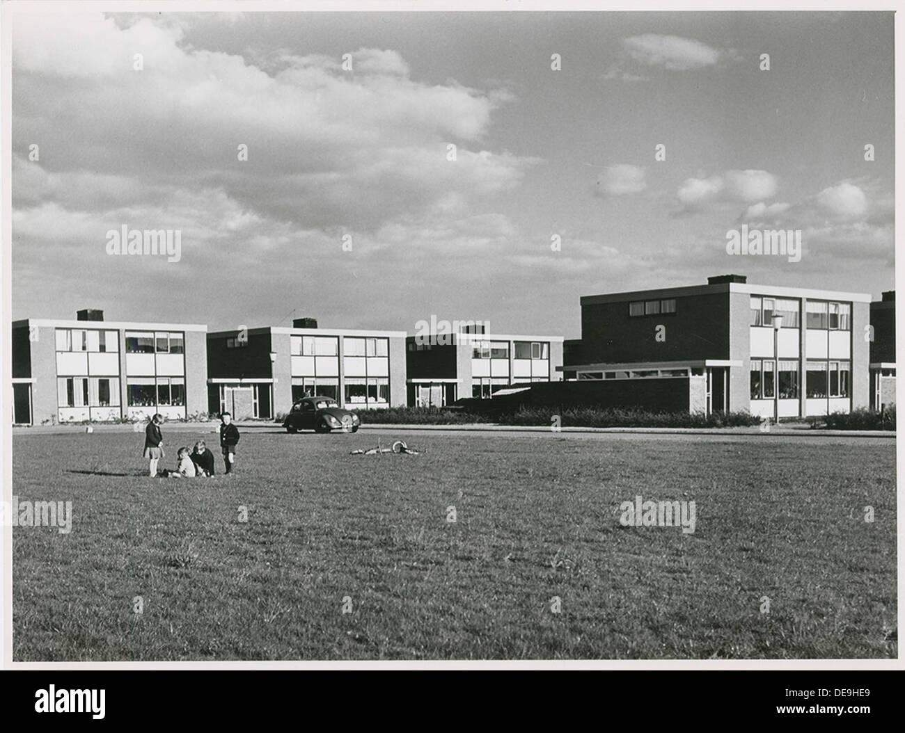 Woningbouw Nagele | Nagele housing - Stock Image