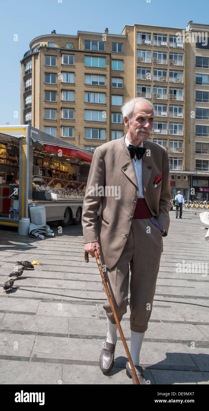 dapper old gent - Stock Image