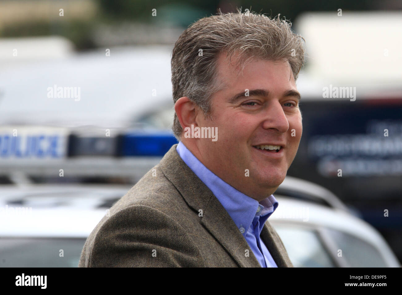 Brandon Lewis MP Parliamentary Under Secretary of State at the Department for Communities and Local Government Conservative - Stock Image