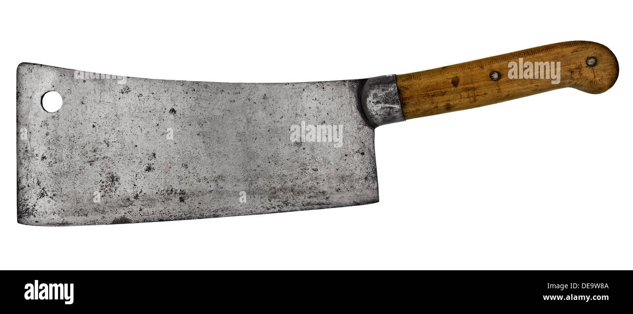 Vintage Meat Cleaver Stock Photos Vintage Meat Cleaver Stock
